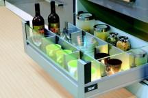 System podziału szuflady panelowy