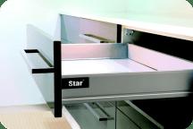 StarMotion szuflada niska