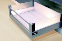 StarMotion - szuflada wewnętrzna ze szklanymi bokami